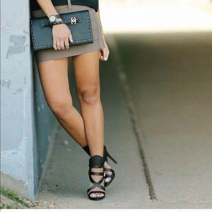Haute Hippie bandage skirt -small